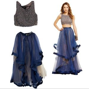 Terani couture two piece